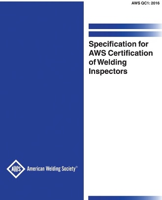 AWS Spec. for Cert. of W. Insp.