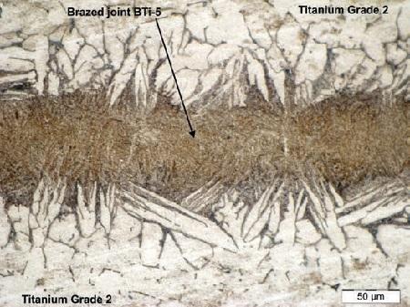 Titanium Brazing BTi-5