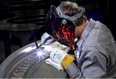 GE Steam Turbine Repair Shop