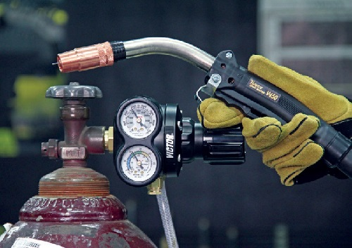Gas flow check