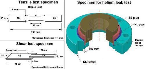Vacuum Brazed Specimen
