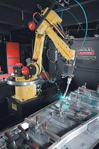 Lincoln Robot Fixture