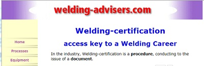 Welding-Certification New Page