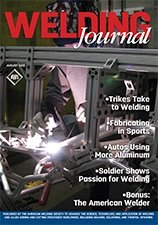Welding Journal Cover August 2016